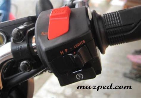 Saklar Megapro cara pasang engine cut ke cb150r cbsfriders