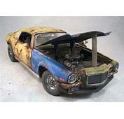 1970 Chevy Camaro Weathered Barn Find Drag Car Rat Rod 1
