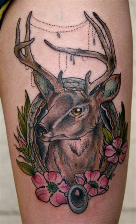 traditional deer tattoo traditional deer tattoos book 65 000 tattoos
