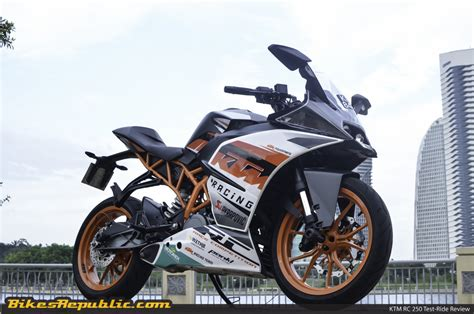 Ktm Malaysia Bike The Ktm Rc 250 Reviewed In Malaysia