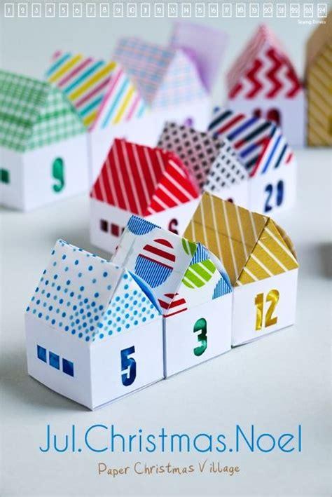 Deco De Noel A Fabriquer 189 by Villages De No 235 L Calendrier De L Avent And Pour Enfants
