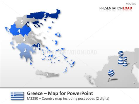 zip code map europe powerpoint maps of europe european countries