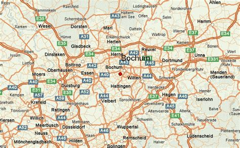map of bochum germany bochum location guide