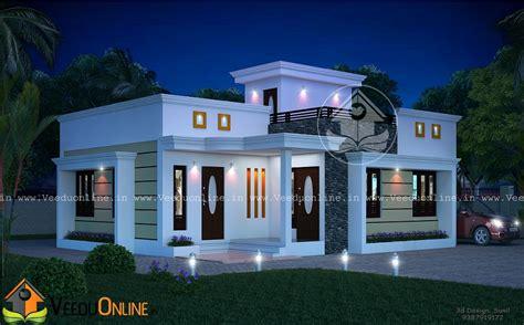 1220 Square Feet Contemporary Low Budget Home Design