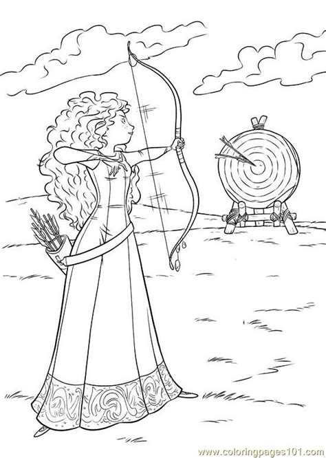 brave 32 coloring page free brave coloring pages