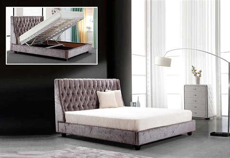 transitional bed vg dalia modern bedroom furniture