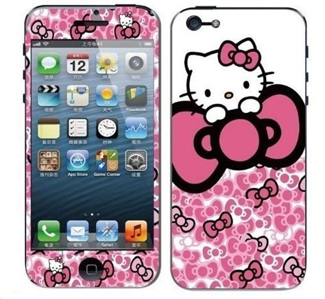 Pics Of Hello Kittyhard Caseiphone Semua Hp buy 1 get 1 skin protector hello for iphone dari commshop15 di casing handphone produk