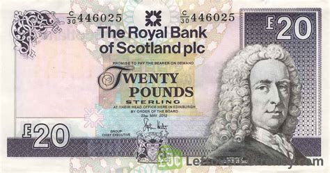 the royal bank of scotland plc the royal bank of scotland plc 20 pounds exchange yours