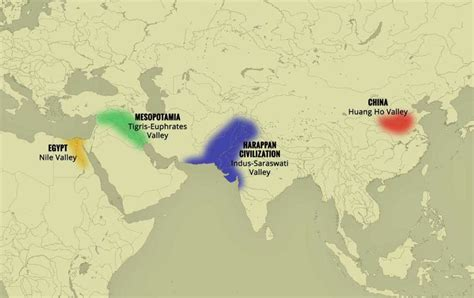 world map river valley civilizations 48 lesser known facts about indus valley civilization
