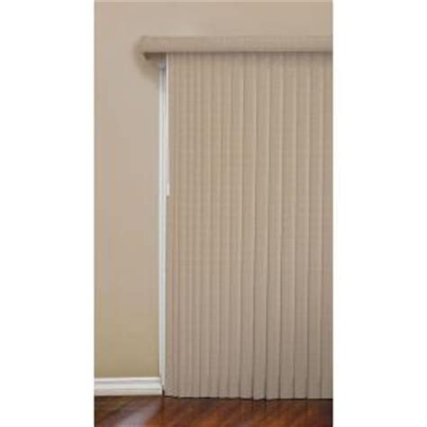 Vertical Blind Replacement Slats Home Depot designview mosaic 3 5 in vertical blind 78 in w x 84 in l 10793478805686 the home depot