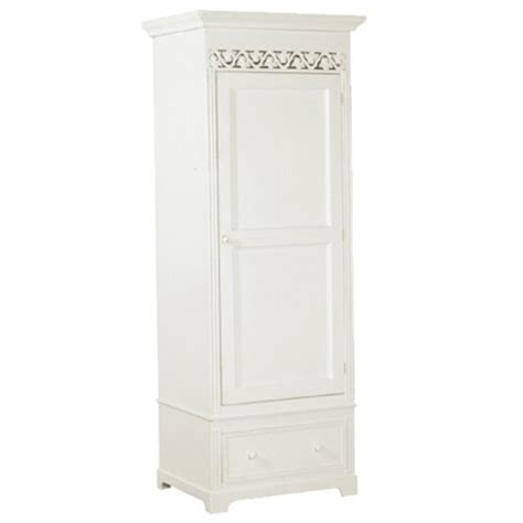 Single Armoire Wardrobe by White Single Armoire Wardrobe Wardrobes Uniquechic Findmefurniture