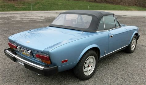 fiat spider 1981 1981 fiat 2000 spider connors motorcar company