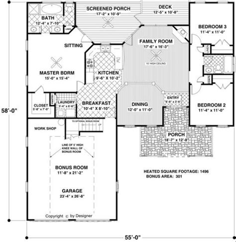 House Plans Large Kitchen Home Plans With Large Kitchens