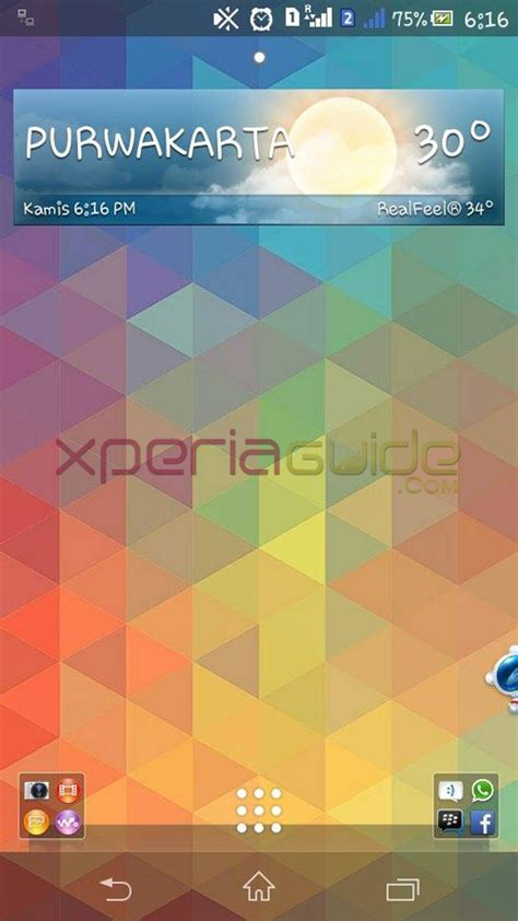 themes for android xperia c xperia c triflat theme homescreen gizmo bolt exposing