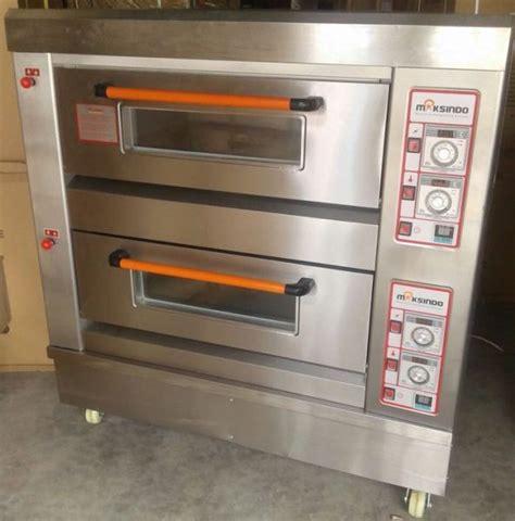 Oven Roti Gas mesin oven roti gas 2 rak 4 loyang go24 toko mesin maksindo toko mesin maksindo