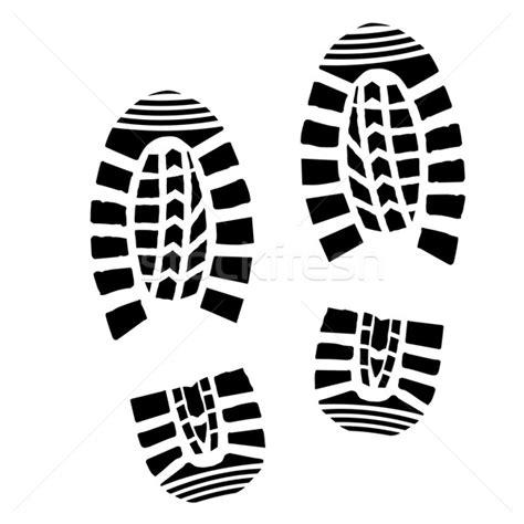running shoe print vector shoe print silhouette vector illustration 169 felix pergande