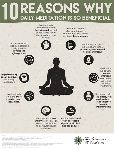 10 I And Why by 10 Reasons Why Daily Meditation Is So Beneficial