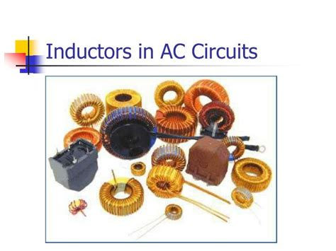 inductors in ac circuits ppt inductive reactance powerpoint presentation id 6816964