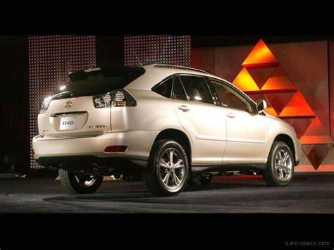 2007 lexus suv models 2007 lexus rx 400h suv specifications pictures prices