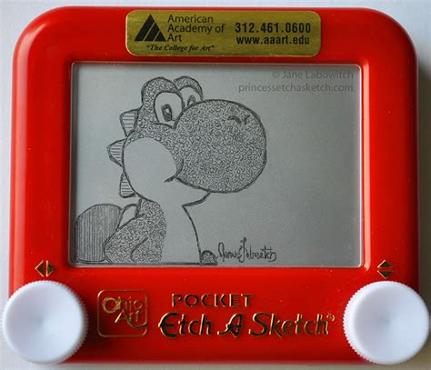 Things To Draw On Etch A Sketch by Mario Bros Etch A Sketch Pic Global News