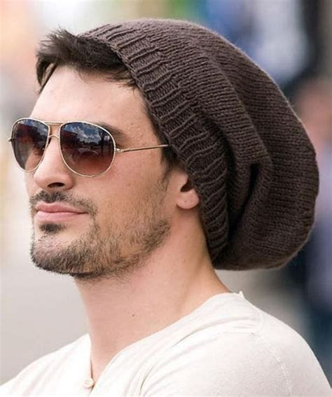 free knitting pattern mens beanie free knitting pattern for easy going slouchy beanie