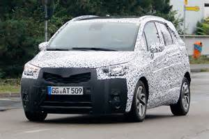 All Vauxhall New Vauxhall Crossland X Suv To Arrive In 2017 Carbuyer