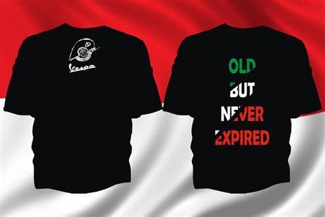 Kaos T Shirt Tshirt Vespa But Never Expired 1 vespa vespi by halte24 on deviantart
