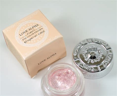 Eyeshadow Jelly rocaille writes review alpha frozen jelly eyeshadow