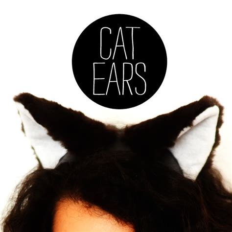 How To Make Paper Cat Ears - make a thing every day cat ears