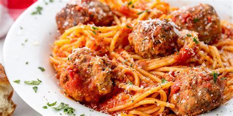 best meatball recipe spaghetti and meatballs recipe dishmaps