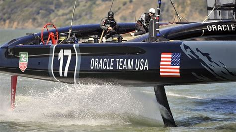 hydrofoil catamaran oracle bbc sport america s cup 162 years of evolution