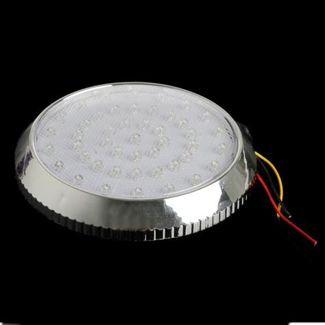 12v 46led Van Vehicle Interior Roof Ceiling Indoor Dome Ceiling Reading Light