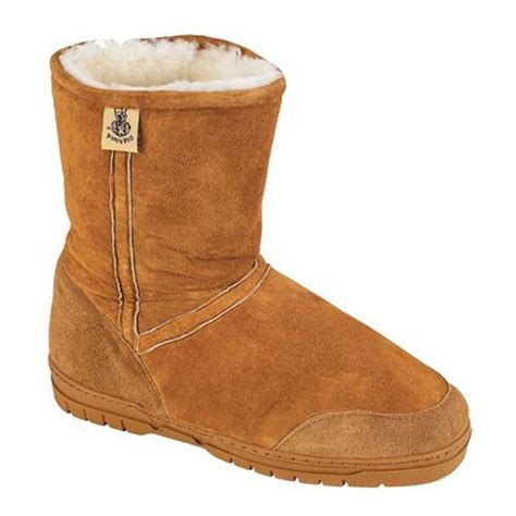 mens shearling boots mens genuine shearling boots