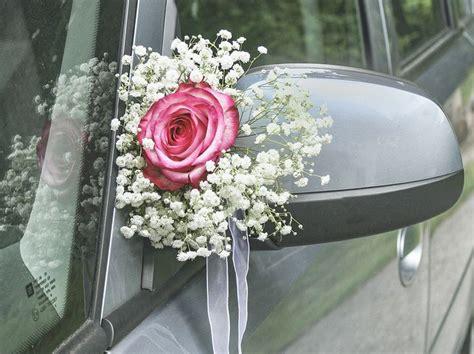Blumenschmuck Hochzeit by Die Besten 25 Autodeko Hochzeit Ideen Auf