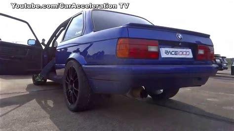 Bmw E30 Turbo by Bmw 325i E30 Turbo 1000hp With Acceleration Sounds