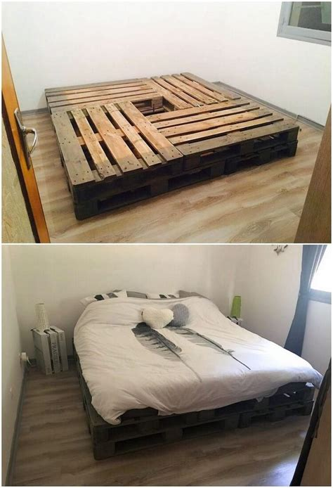 pallet bed frame ideas best 25 pallet bed frames ideas on pinterest pallet