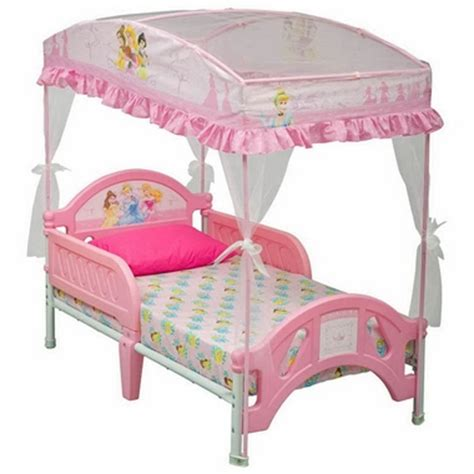Princess Toddler Bed With Canopy Disney Princess Toddler Bed With Canopy Bb87081ps By Delta Beds At Simplykidsfurniture