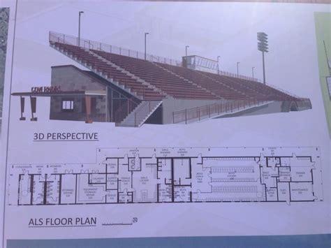 football stadium floor plan new stadium floor plan on bottom underneath bleachers