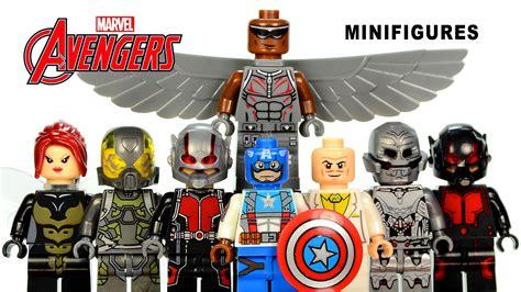 Lego Marvel The Minifig Series Bootleg marvel s ant captain america lego knockoff