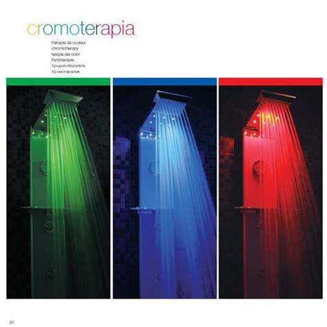 doccia led cromoterapia cromoterapia a led pannelli doccia cromoterapia bagno