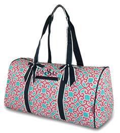 Quilted Monogrammed Bags by Monogrammed Quilted Duffel