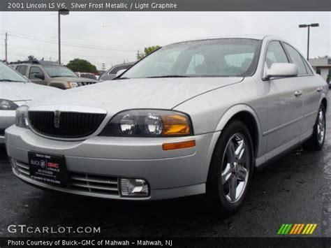 2001 lincoln ls v6 silver metallic 2001 lincoln ls v6 light