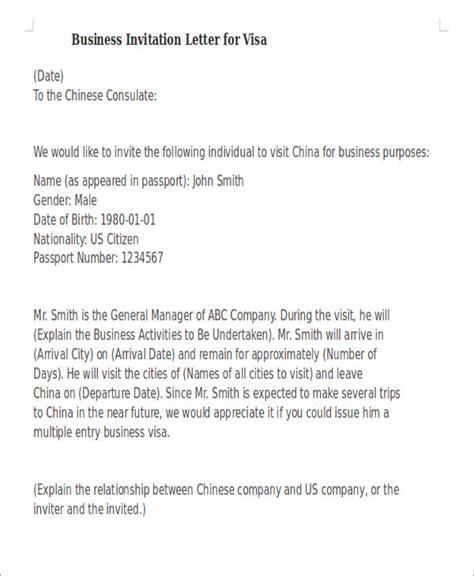 sle invitation letter business invitation letter sle for visa 4k wallpapers