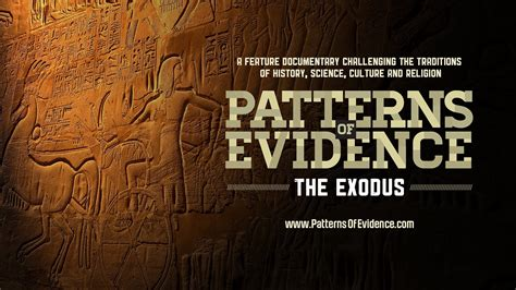 pattern of evidence trailer official trailer patterns of evidence the exodus youtube