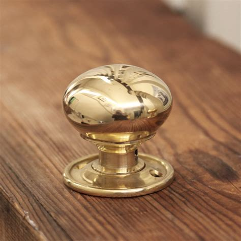 Small Brass Door Knobs brass cottage bun door knobs small
