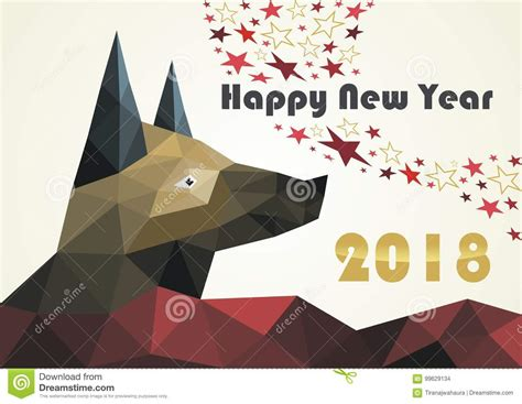 New Year Card Design Template by Happy New Year 2018 Stock Vector Illustration Of Banners