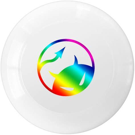 Kaos Shp Logo Glow daredevil discs logo gamedisc light metallic rainbow