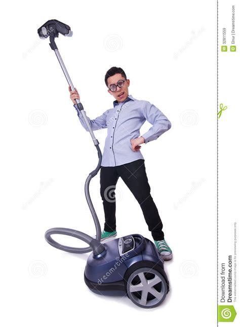 House Floor Plans And Prices funny man with vacuum cleaner royalty free stock images