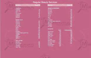 haircut price list vlcc nfc