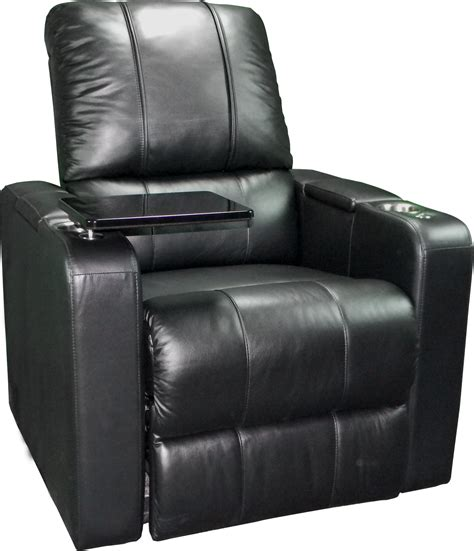 home theater recliner  custom furniture leather